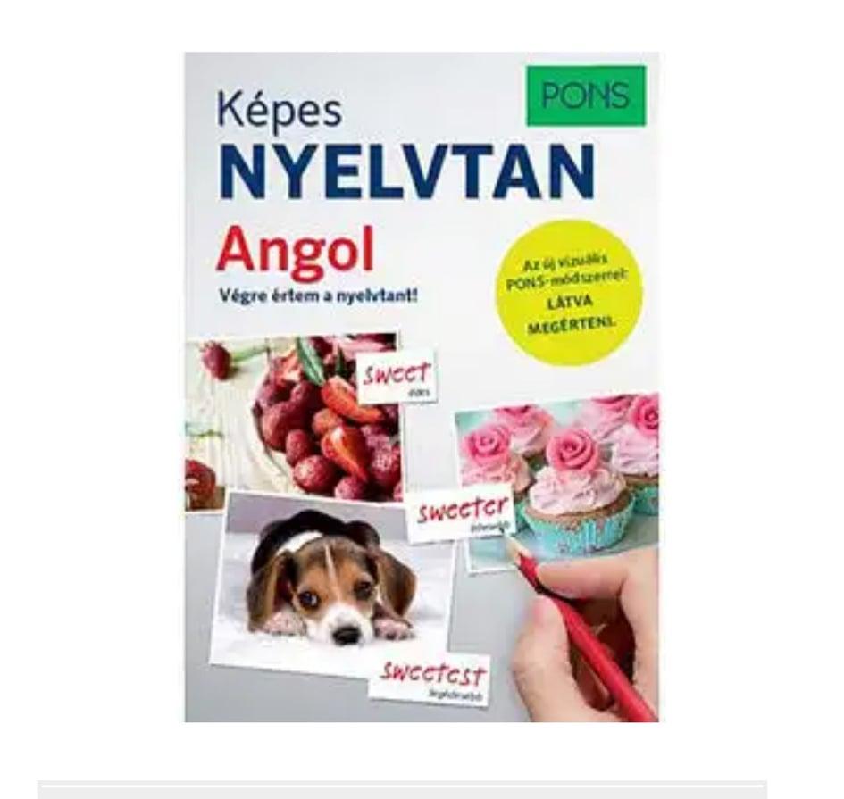 PONS KÉPES ANGOL NYELVTAN -LÁTVA MEGÉRTENI fotók