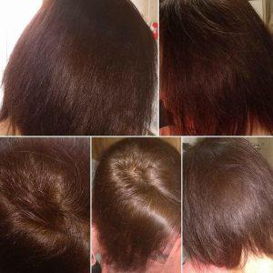 Herbal hajmosás fotók