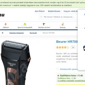 Beurer HR 7000 fotók
