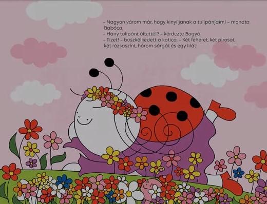 Bogyó és Babóca Évszakos könyv fotók
