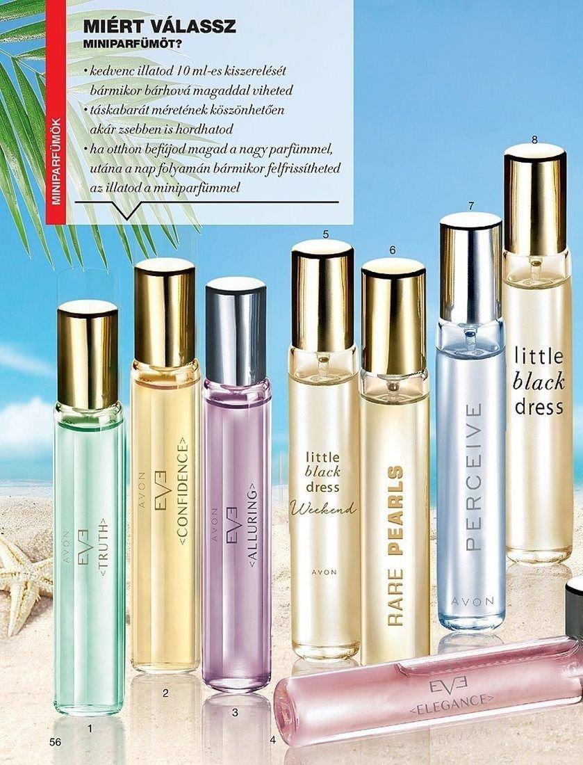 Avon Mini parfümök fotók